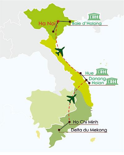 Circuit Vietnam 12 jours - Découverte panorama