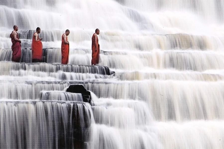 Les cascades Pongour