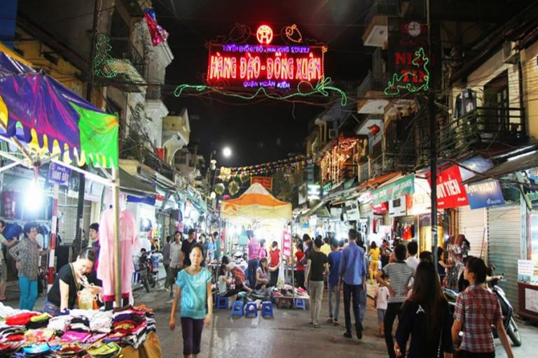 hanoi marché de nuit