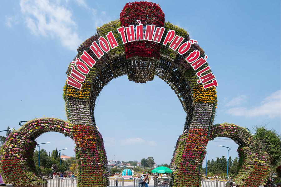 Jardin des fleurs à Dalat