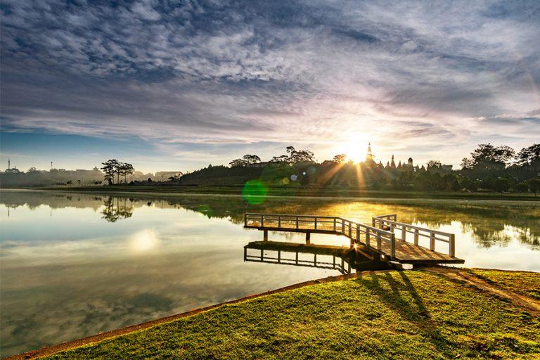 Le lac xuan huong - Dalat