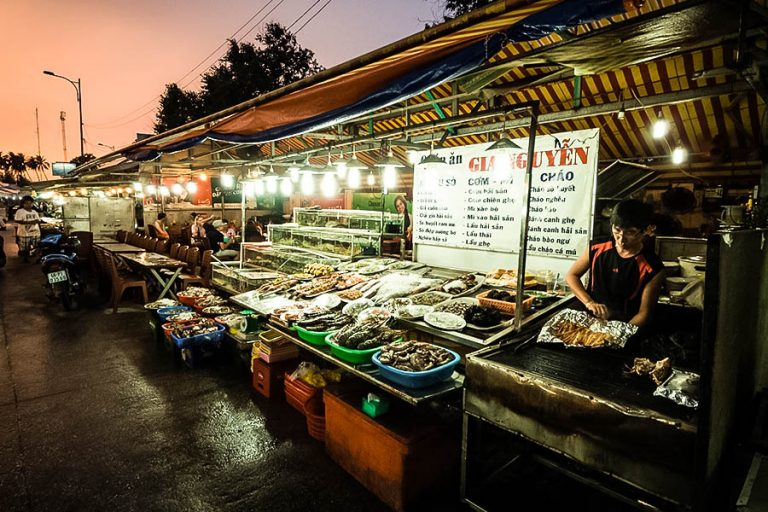 Marché de nuit de Phu Quoc