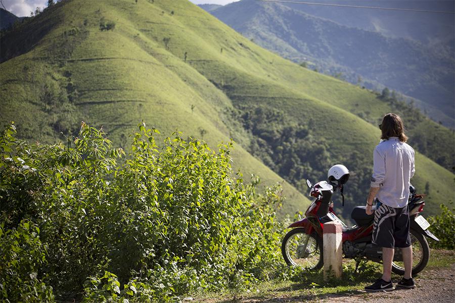 Faire de la moto à Ha Giang