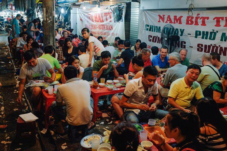restaurant rue hanoi