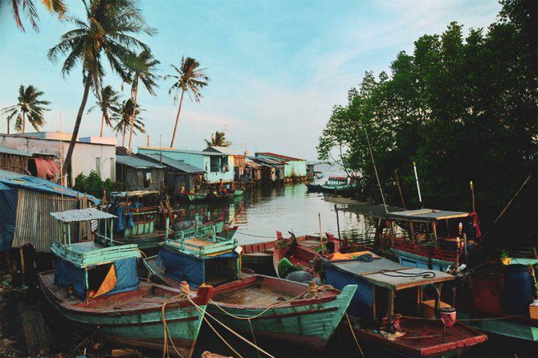 Le village de pêcheur Ham Ninh