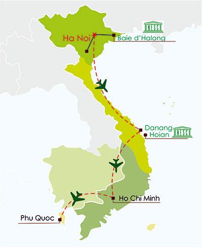 circuit vietnam en famille 12 jours