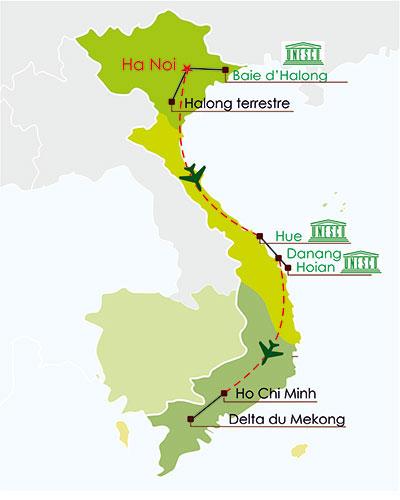 circuit vietnam en famille 17 jours